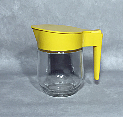 yellow top maple syrup pourer. Think Harvest Gold (Image1)