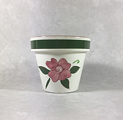 Stangl Pottery 3 1/8 Inch Tall Sweet Little Flower Pot With Original Label
