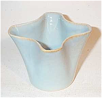 Ballard #12 four lobe blue vase (Image1)