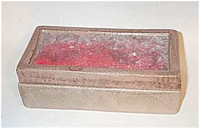 Bitossi Raymor covered cigarette box (Image1)