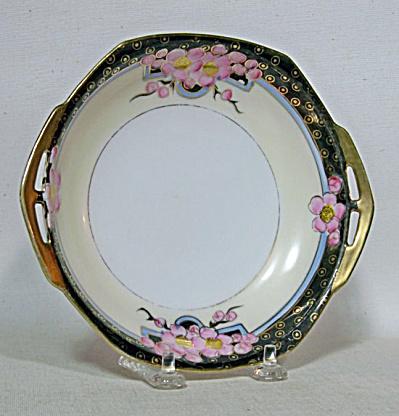 Noritake Deco pink prunus 7 dish (Image1)