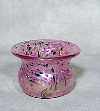 toothpick holder:  Crider 2007 pink feather (Image1)