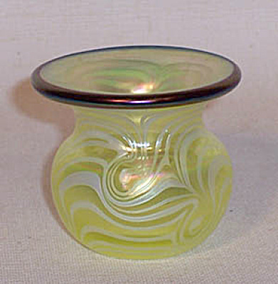 Crider bulbous 2006 vaseline toothpick holder (Image1)