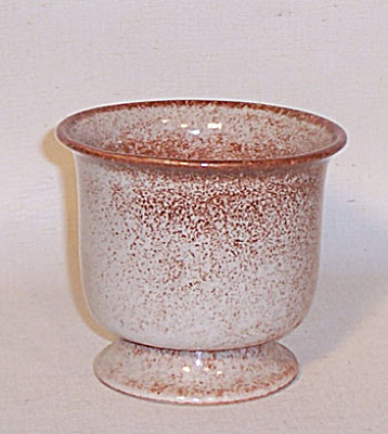 Ballard #58 early footed round planter vase (Image1)