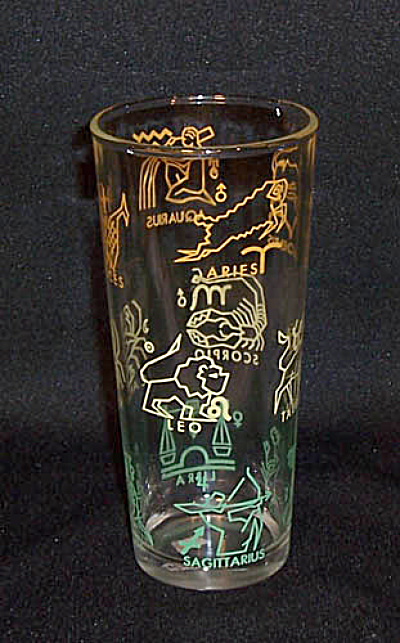 Zodiac signs zombie cocktail glass (Image1)