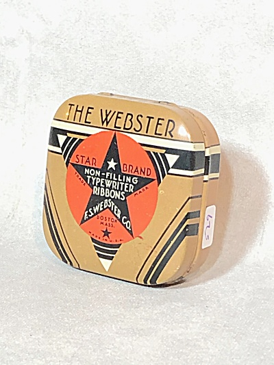 The Webster Star Band Corona Ribbon Tin