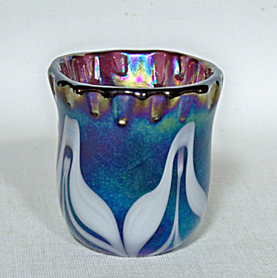 toothpick holder: Crider 1977 pulled feathers (Image1)