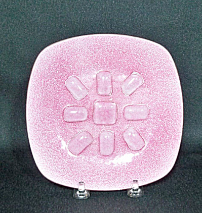 Annemarie Davidson Unusual Pink Jewel Plate