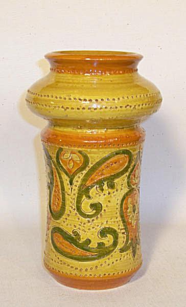 Bitossi Rosenthal-Netter 8 inch Paisley vase (Image1)