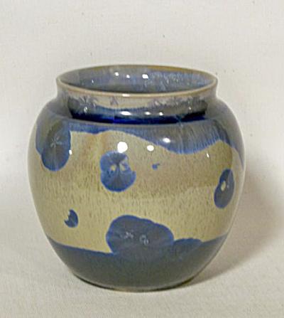 Nancy Wickham signed Midcentury Vermont vase (Image1)