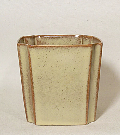 Ballard #9 early yellow octagonal vase (Image1)
