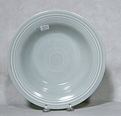 Vintage Fiesta gray deep plate (Image1)