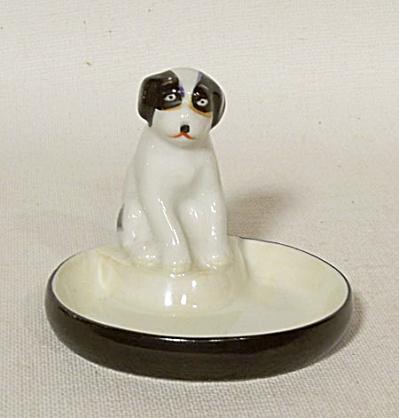 Noritake Deco figural dog pin dish (Image1)