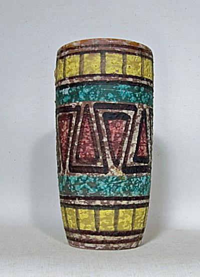 Toscany or Bagnoli Italy Brutalist vase (Image1)