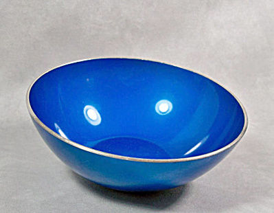 Emalox small blue enamel bowl (Image1)