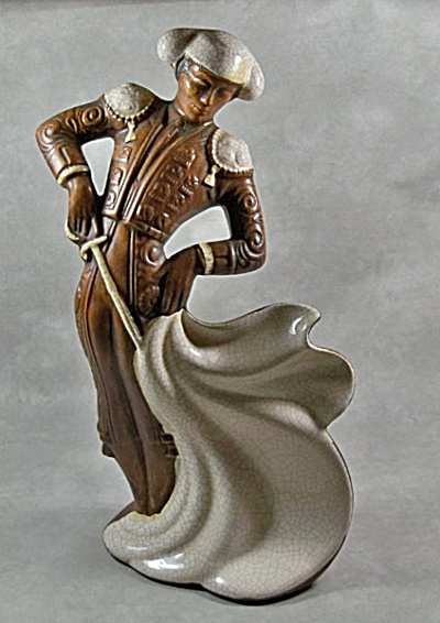 Treasure Craft 11 inch tall Matador figurine (Image1)