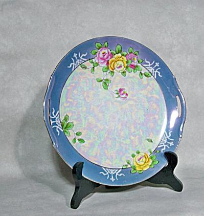 Noritake Deco pearl luster cake plate (Image1)