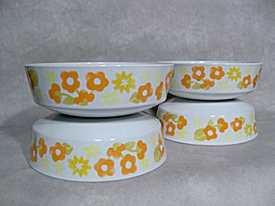 set Pyrex Centura Summerhill coupe bowls (Image1)