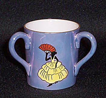 toothpick holder: Noritake 3 handle Lady (Image1)