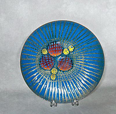 Annemarie Davidson mid-century Jewel plate (Image1)