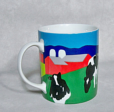 Woody Jackson 1987 Cow coffee mug (Image1)