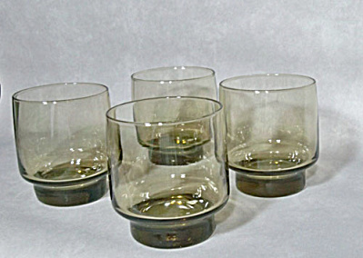 Libbey glass set 4 Tawny Accent 9 oz. Rocks (Image1)