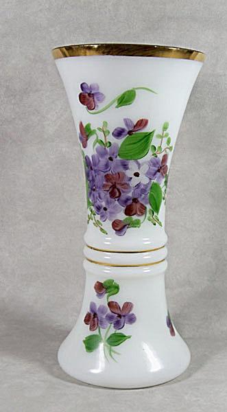 Consolidated Con-Cora #6004 Violets vase (Image1)