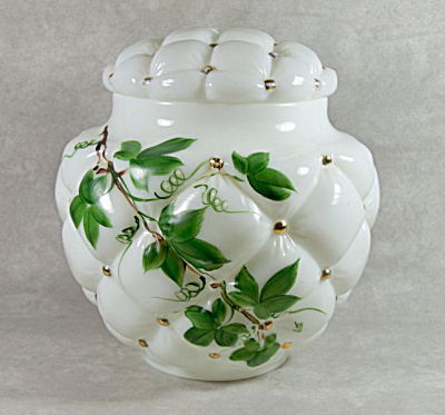 Consolidated Con-Cora #5100 Green Ivy jar (Image1)