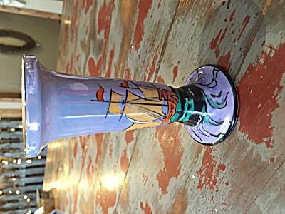 Noritake Deco ship motif bud vase (Image1)