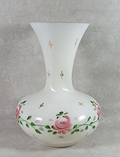 Consolidated Con-Cora #4038 Pink Roses vase (Image1)