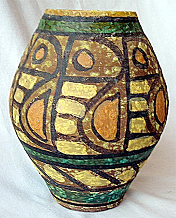 Bitossi Bagnoli Brutalist wide Fish vase (Image1)