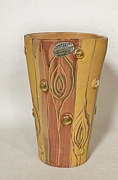 Toscany Empoli Tree Bark vase (Image1)