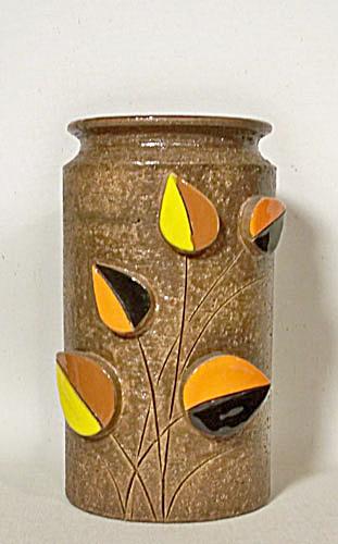 Bitossi Rosenthal Netter 5 leaf Bark vase (Image1)