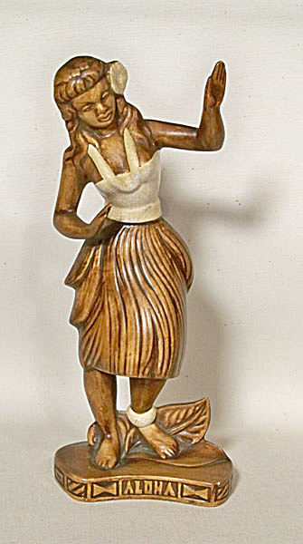 Treasure-Craft #278 11 inch tall Hula girl (Image1)