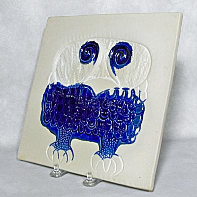 Bennington Potters 1536 Owl trivet  (Image1)