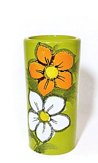 Rosenthal-Netter Bitossi chartreuse vase (Image1)