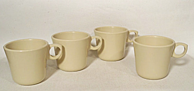 4 Florence Prolon stacking coffee mugs. Funky (Image1)