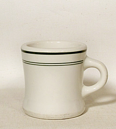 McNichol china green band diner coffee mug (Image1)