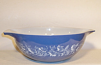 Pyrex 444 large Colonial Mist mixing bowl (Image1)