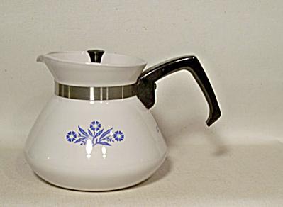 Corning Ware Cornflower P-104 6 C. teapot (Image1)