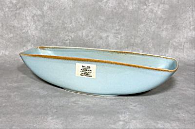 Ballard #52 large blue console bowl  (Image1)