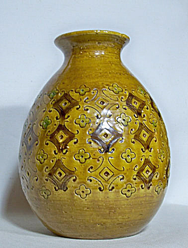 Bitossi Yellow Spagnolo Londi Vase (As Is)