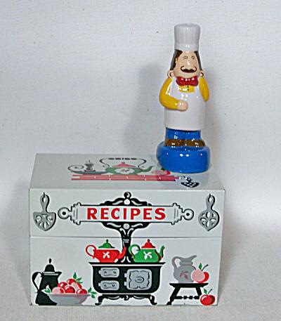 Stylecraft Mid-century Recipe Box # 805  (Image1)