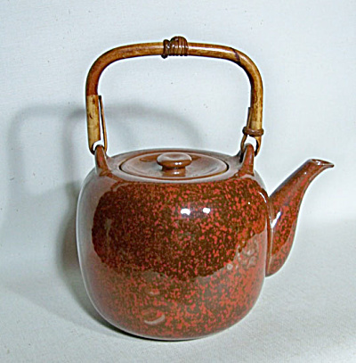 Taylor & Ng bamboo handle teapot Japan (Image1)