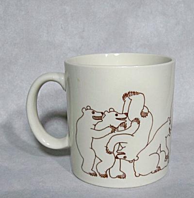 Taylor & Ng 1979 brown Bear Orgy mug (Image1)