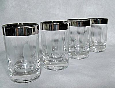 set 4 midcentury silverfade juice tumbler (Image1)