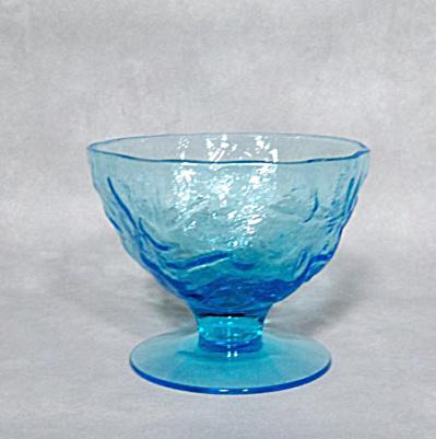 Morgantown Crinkle Peacock Blue sherbet (Image1)