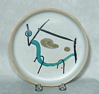 David Gil Bennington Bull Raymor #1240 plate (Image1)