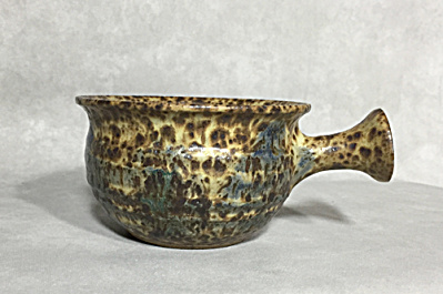 Georges Scatchard Early Glaze Lug Soup Bowl