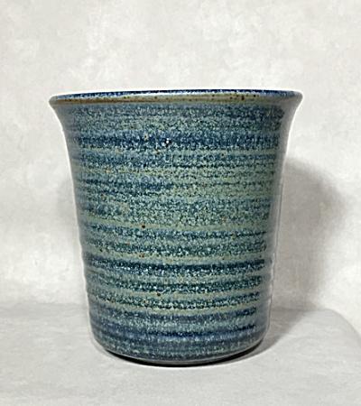 George Scatchard Midcentury blue ring vase (Image1)
